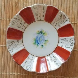 Trinket Porcelain Dish Made in Occupied Japan